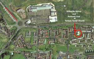 Map to get to Torbain Parish Church